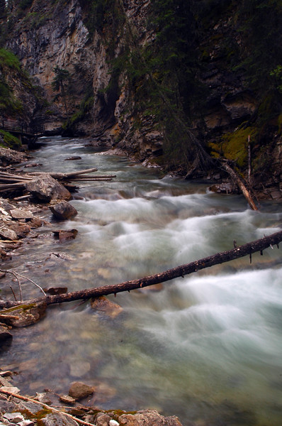 Water flowing down a river - long exposure - Nature Stock Image by Professional Nature Photographer Christina Craft