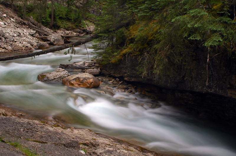 Water flowing down a river - Nature Stock Image by Professional Nature Photographer Christina Craft