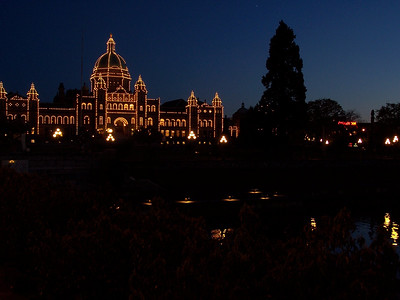 British Columbia Legislature buildings in Victoria B.C. on Vancouver Island - Nature Stock Image by Professional Nature Photographer Christina Craft