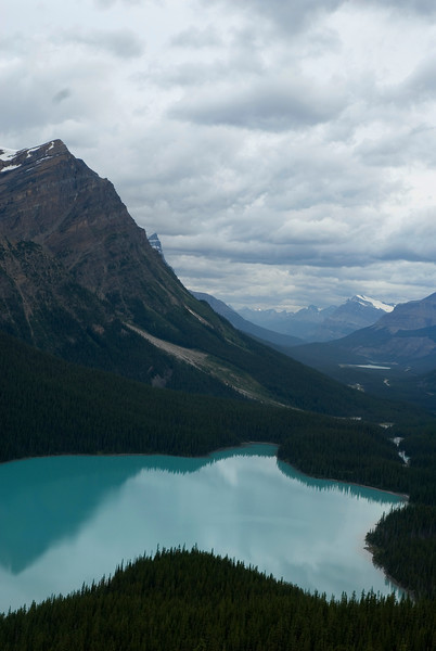Peyto Lake, Rocky Moutains of Banff National Park in Alberta, Canada - Canadian wilderness