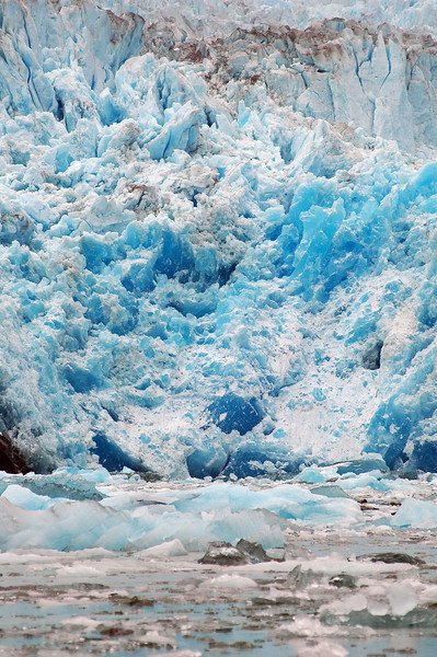 Remote landscapes - This is a blue glacier in Alaska in the artic - This area is well known for glaciers and icebergs.