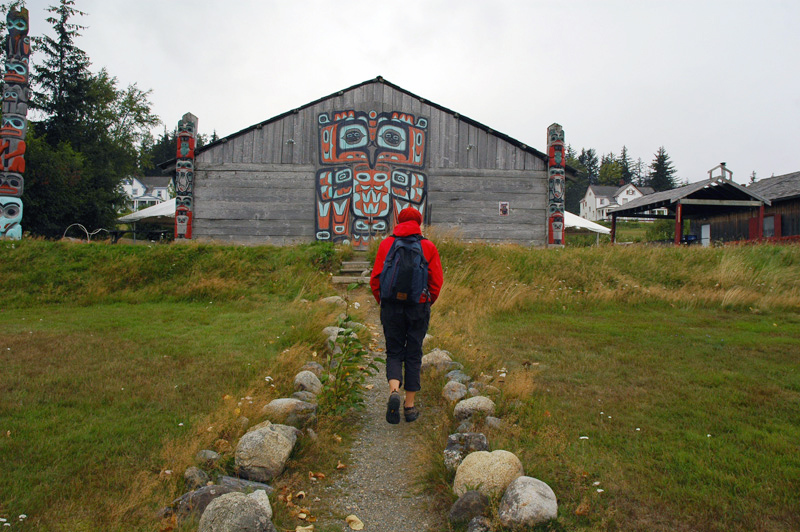 Haines Alaska - a town in Alaska with lots of Tlingit native culture, totems and art<br /> <br /> <br /> <br /> Travel Stock Photography for the Nature Stock Photography Library by Professional Photographer Christina Craft