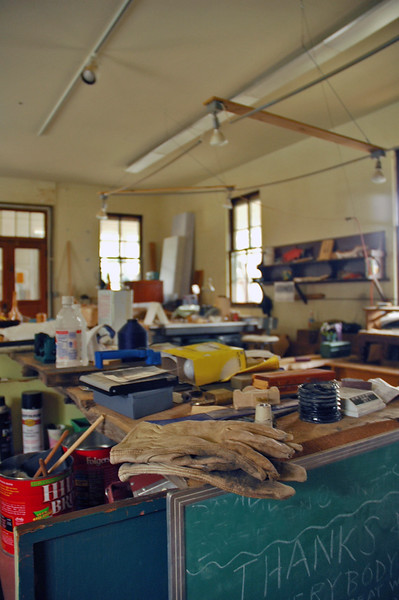A carving studio in Haines Alaska - a town in Alaska with lots of Tlingit native culture, totems and art<br /> <br /> <br /> <br /> Travel Stock Photography for the Nature Stock Photography Library by Professional Photographer Christina Craft