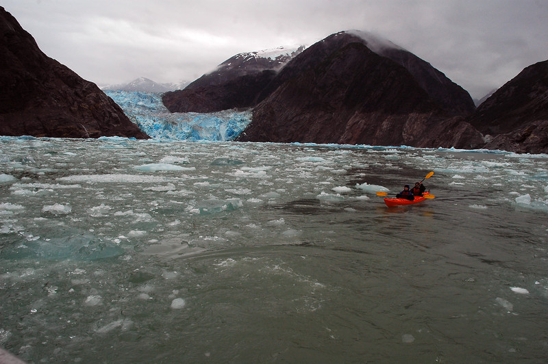sea kayakers Remote landscapes
