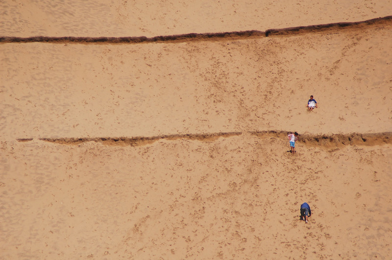Kiwanda, Oregon Sand dunes - kids playing - Oregon USA - American Coastlines - by Nature Photographer Christina Craft - Thousands of nature and wildlife photos available here in the Nature & Wildlife Photo Library.