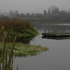 Lake in the fog a dock - Nature Stock Image by Professional Nature Photographer Christina Craft