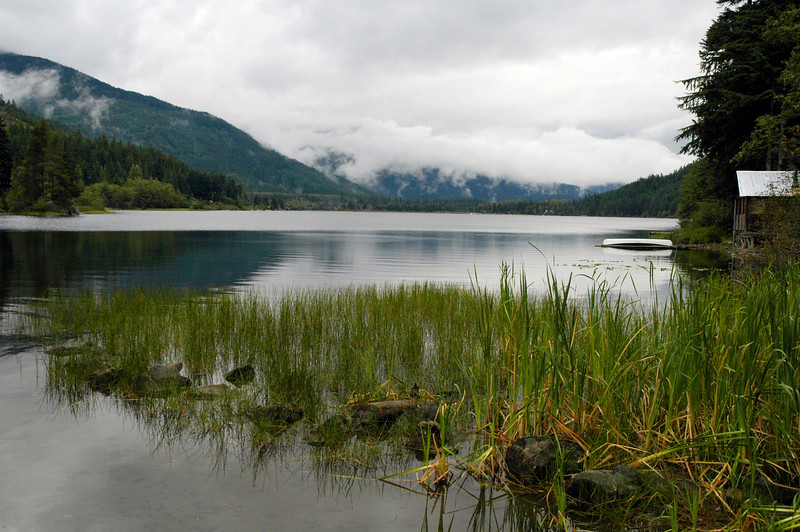 Cottage Lake Scene in the mountains<br /> Professional Nature Photography by Christina Craft of the Nature Stock Photography Library