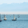Sail boats on the ocean - Stock Photo by Nature Photographer Christina Craft