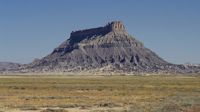 Factory Butte, Caineville, Utah.