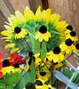 Lisa Simpson sunflower