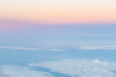 Pastels from a plane's view
