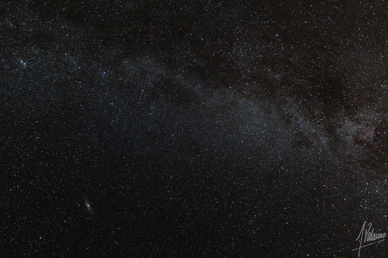 The Milkyway and the Andromeda Galaxy