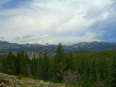 Lizard Head Peak (over 12,000 ft) in background