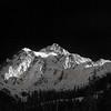 Monochrome Mount Shuksan