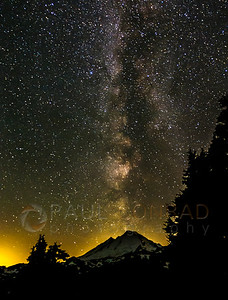 Milky Way & Mount Baker