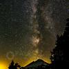 Milky Way & Mount Baker