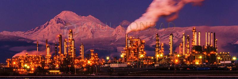 Mt. Baker & Tesoro Refinery