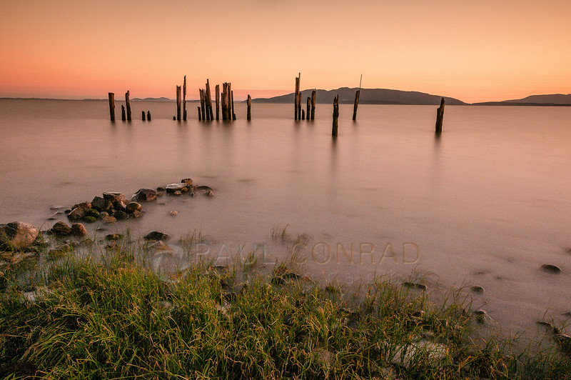 © Paul Conrad/Pablo Conrad Photography - Sunset from Locust Beach in Bellingham, Wash., along the shore of Bellingham Bay on Wednesday August 6, 2014.