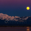Mount Baker and the Wolf Moon