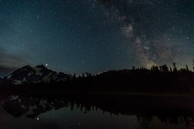 Milky Way and Mount Shuksan