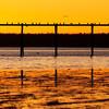 © Paul Conrad/Pablo Conrad Photography - Sunset at Squalicum Beach in Bellingham, Wash.