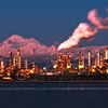 Mount Baker and Refinery