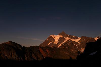 Mount Shuksan Alpenglow - 0084