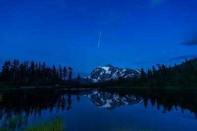 Stars Over Mount Shuksan