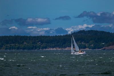 Sailboating Around Anacortes