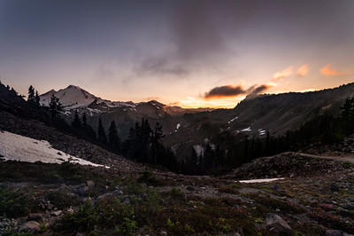 Mount Baker North Cascades Sunset - 0092