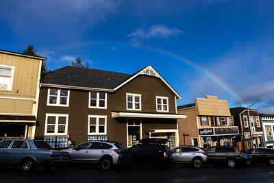 Rainbow Over Windermere -  0042
