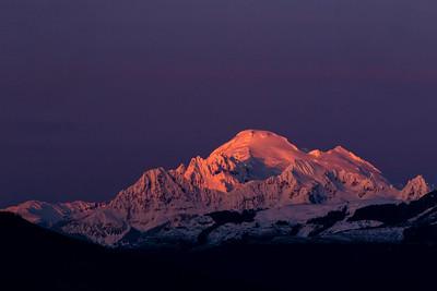 Mount Baker Alpenglow- 0057