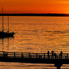 © Paul Conrad/Pablo Conrad Photography - Sunset across Bellingham Bay from Boulevard Park in Bellingham, Wash.