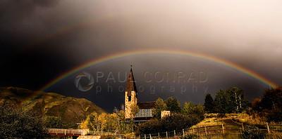 Rainbow Over Aspen