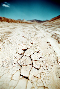 © Paul Conrad/Pablo Conrad Photography - A parched river bed in Death Valley, Calif.