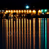 © Paul Conrad/Pablo Conrad Photography<br /> <br /> Lights from the boatyard shine across the still waters of Bellingham Bay during night time at Boulevard and Zuanich Parks in Bellingham, Wash.