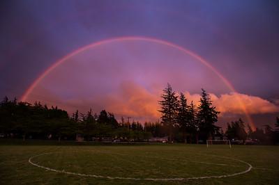 Double Rainbow Over Bellingham