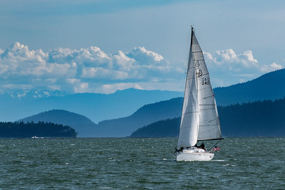 Sailing the Bay in Bellingham