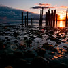 © Paul Conrad/Pablo Conrad Photography  Sunset at Locust Beach in Bellingham, Wash.