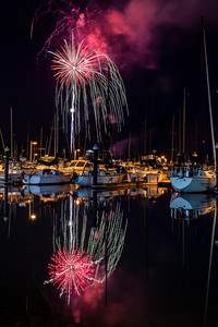Fireworks Over Squalicum Harbor 2019
