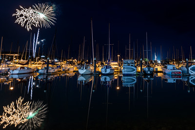 Fireworks Over Squalicum Harbor 2019