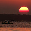 © Paul Conrad/Pablo Conrad Photography<br /> <br /> Kayakers watch the Sun set over Bellingham Bay in Bellingham, Wash.