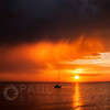 © Paul Conrad/Pablo Conrad Photography<br /> <br /> The Sun sets over Bellingham Bay in Bellingham, Wash., after thunderstorms passed the area.