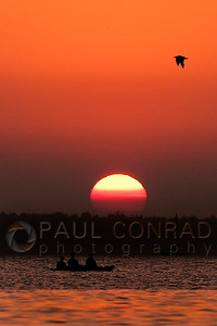 © Paul Conrad/Pablo Conrad Photography  The Sun sets over Bellingham Bay in Bellingham, Wash.