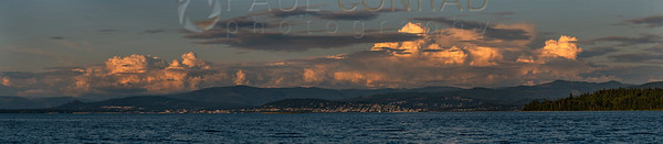 Clouds Over Bellingham Moonrise 0078