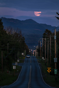 Clouds Over Bellingham Moonrise 0178
