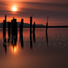 © Paul Conrad/Pablo Conrad Photography  Old pylons at Locust Beach along Bellingham Bay in Bellingham, Wash.