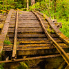 © Paul Conrad/Pablo Conrad Photography  A rotting old rail road track and bridge found in the Whatcom Falls Park in Bellingham, Wash.
