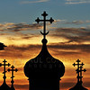 "© Paul Conrad/ Sky Fire Photography The sun sets behind the Space Needle and St. Spiridon Orthodox Cathedral in Seattle, Wash.  <a href=""mailto:pabloconrad@skyfirephotography.com"">Send Me Your Thoughts and Questions</a>"