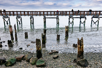 © Paul Conrad/Pablo Conrad Photography  On the Boardwalk at Boulevard Park in Bellingham, Wash., on Sunday December 30, 2012.
